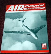 Air Pictorial 1956 August Japanese Army Aircraft,FD2,HP42