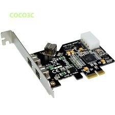 3 Ports 1394B PCI Express Card Firewire 800 for DV Digital Camera