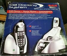 RCA 23200RE3 2.4 Cordless Phone CID SPEAKER IN HANDSET and  Cell Docking System.