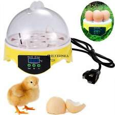 Incubator Poultry Hatcher Chicken,duck quail 7 Egg US Plug