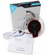 Plug in FANTASY WIRELESS CHARGER PAD For QI Enabled SAMSUNG S5 S6/E IPHONE5 6/6S