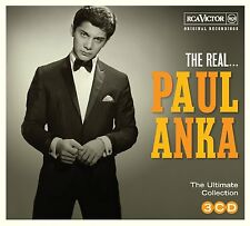 Paul Anka REAL Ultimate Collection 48 ORIGINAL RECORDINGS Best Of NEW 3 CD