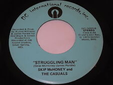 Skip McHoney And The Casuals: Struggling Man / Your Funny Moods 45 - Soul