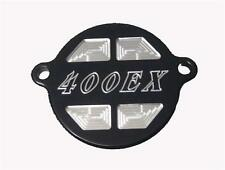 ModQuad - OC2-XBLK - Oil Filter Cover -400EX Logo, Black~