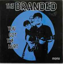 Dirty Water Records New Garage Punk The Branded You Got The Hurt I Can't Stand