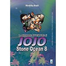 LE BIZZARRE AVVENTURE DI JOJO - STONE OCEAN 8 DI 11 - STAR COMICS NUOVO