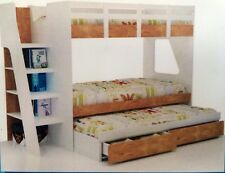 Bunk Bed Kids Single with trundle and  Storage DRAWERS  Limited Stock NEW IN BOX