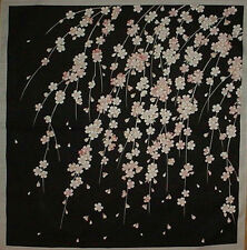 Furoshiki Wrapping Cloth Japanese Fabric 'Weeping Cherry Tree' Cotton 50cm