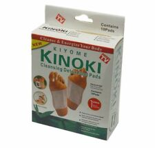 20 x Kinoki Detox Foot Pad Patches Remove Harmful Body Toxins Health UK