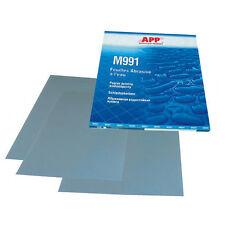 50 feuilles grain 800 de papier abrasif pour poncer à l'eau  format 230 x 280mm