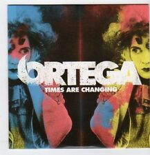 (EO150) Ortega, Times Are Changing - 2007 CD