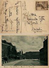 REGNO-30c ROSSINI(467) su cartolina ANNULLATO- Roma- Napoli