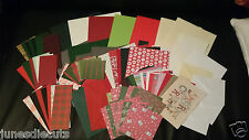 *Craft Clearance* XMAS SCRAPBOOKING KIT/CARDS,ENVS,CARD,PAPER,100 ITEMS free p/p