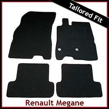 Renault Megane Mk3 2008-2016 Tailored Fitted Carpet Car Floor Mats BLACK