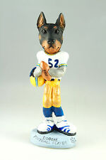 DOBERMAN FOOTBALL PL;AYER  INTERCHANGABLE BODY SEE BREED & BODIES @ EBAY STORE