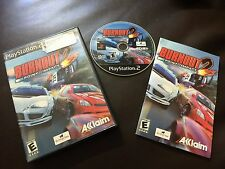 Burnout 2: Point of Impact (Sony PlayStation 2, 2002)COMPLETE