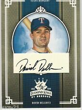 DAVID DELLUCCI 2005 DIAMOND KINGS DONRUSS SIGNATURE CARD 236 SERIAL NUMBER 11/25