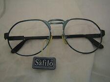 Montatura frame Safilo Astro metallo azzurro anni '70 Nwt