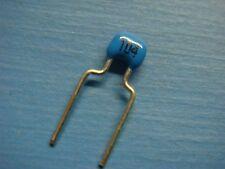 (100) NWC MR215E104MAA 50V 0.1uF 20% 5mm Z5U RADIAL CERAMIC CAPACITOR