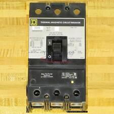 Square D KAP362001021 Circuit Breaker, 200 Amp, Shunt Trip, Used