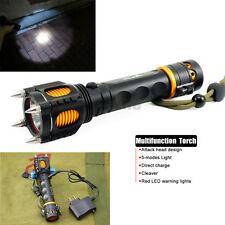 3000LM 5 Modes CREE T6 LED Tactical Self-defense Alarm Flashlight Torch 18650