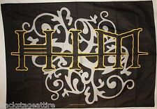 HIM Silver and Gold Ville Valo Bam Margera Cloth Fabric Poster Flag Tapestry-New