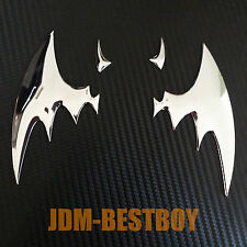 JDM 3D Chrome Metal Devil Logo Decal Sticker Car Auto Emblem Badge Universal