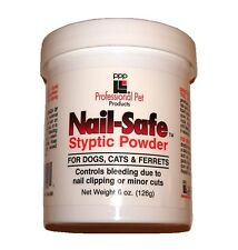 PPP DOG & CAT NAIL SAFE GROOMERS STYPTIC POWDER. 126g