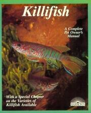 Killifish: A Complete Pet Owner's Manual-ExLibrary