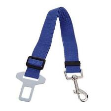 Pet Car Vehicle Seat Belt Safety Seatbelt Harness Leash Dog Adjustable Blue S5