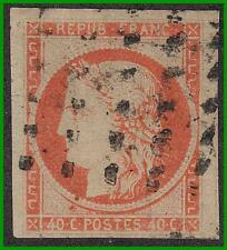 FRANCE 1850 CERES SC#7//Yt#5 used  CV525Euro SOLD AS IS