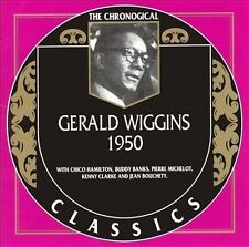 Gerald Wiggins  - 1950 / Chronogical Classics - New and Sealed cd