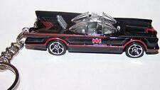 "CUSTOM MADE..BATMAN ""BATMOBILE"" T.V. SERIES (clear window) KEYCHAIN..GREAT GIFT"