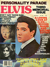 ELVIS PRESLEY-Personality Parade 3rd Memorial Issue - Fall 1980-Rare B&W Pix