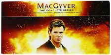 MacGyver The Complete Series 1 - 7 DVD Box Set 39 discs New & Sealed