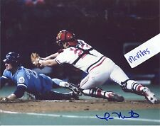 Tom Nieto 1985 St Louis Cardinals Autographed Signed 8x10 Photo COA #1