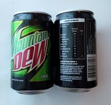 Pepsi MOUNTAIN DEW Cola can PHILIPPINES Standard 2016 Asia Soda Collect Pinoy