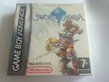 Sword Of Mana Brand New Sealed GBA Game Boy Advance UK PAL Version Square Enix
