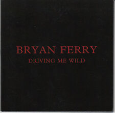 BRYAN FERRY Driving Me Wild 2015 UK 1-trk promo test CD gatefold sleeve