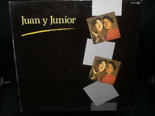 LP JUAN y JUNIOR s/t SPAIN 1985 los BRINCOS VINYL VINILO