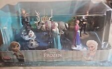 Disney Frozen Figurine Play Set Elsa, Anna, Olaf & More - Cake Toppers