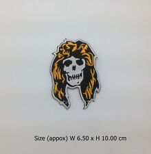 Guns N' Roses Embroidered Sew Iron On Patch Axl Rose Hard rock heavy metal DIY