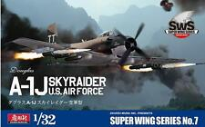 Zoukei Mura 1:32 US Air Force Douglas A-1J Skyraider - Plastic Model Kit #SWS07