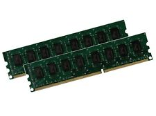 2 x 2 GB 4 GB RAM PC memoria 1066 MHz DDR3 PC3-8500U 240 pin DIMM di memoria PC8500