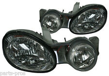 New Replacement Headlights Assembly PAIR / FOR 2000-01 KIA SPECTRA