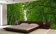 Leafy Green Trees Wall Mural Photo Wallpaper GIANT DECOR Paper Poster Free Paste