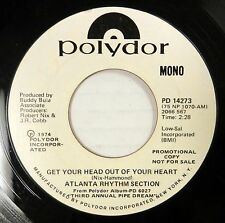 ATLANTA RHYTHM SECTION 45 Get Your Head Out If Your Heart Soul Promo 1974 #C 474