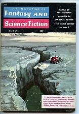 Fantasy and Science Fiction Vol 17 No 1 1959 Approx grading : Fine