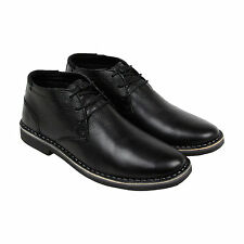 Kenneth Cole Desert Sun Mens Black Leather Casual Dress Oxfords Shoes 8.5