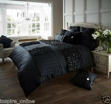 BRAND NEW LUXURY VERINA DUVET COVER WITH PILLOW CASE BEDDING SET QUILT COVER